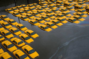 Hurricane Sandy Aftermath by ManiosDesigns