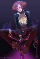 Modern ogre girl by TeemuTaiga