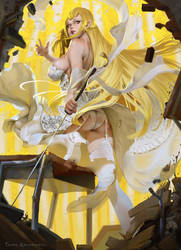 Kiss-Shot Acerola-Orion Heart-Under-Blade by TeemuTaiga