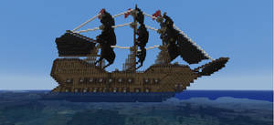 Pirate ship by Pugwis