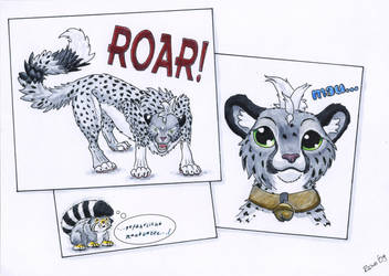 Cheetahs are dangerous by Runoratsu