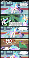 My Little Pwnee by MLP-Silver-Quill
