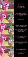Pinkie Pie Says Goodnight: Prepped by MLP-Silver-Quill