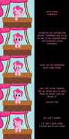 Pinkie Pie Says Goodnight: Dropping In by MLP-Silver-Quill