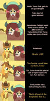 Yona Says Goodnight by MLP-Silver-Quill