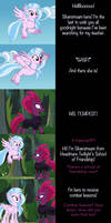 Silverstream Says Goodnight by MLP-Silver-Quill