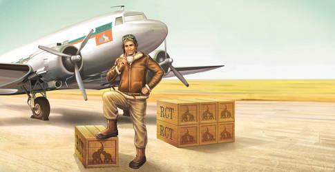 Regal Ceylon Tea Pilot by vanishingpoint