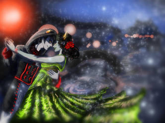 Signless and Disciple: Yulestuck 2012 by Watchowl