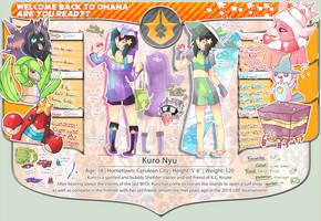 BFOI: FI - Kuro Nyu by RainbowBile