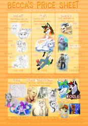 Commission Pricesheet 2017 by bingles
