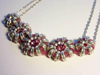Beaded Necklace by GiraffeAndy