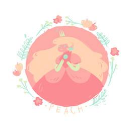 Princess Peach by Bumbledom
