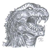 Godzilla by sebatman