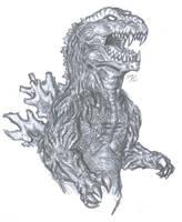 Godzilla Raids Again by sebatman