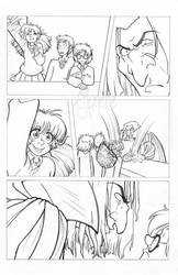 Harry Potter: Philosopher's Stone pencils page iv by Murielle
