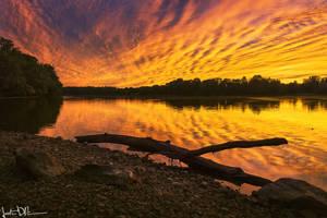 Shimmering Horizons by JustinDeRosa