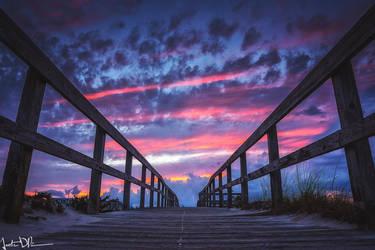 Beachwalk by JustinDeRosa