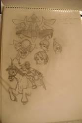 Zelda twilight princess by KyloMutt