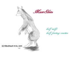 MoonShine Fantasy Wolf OC by KyloMutt
