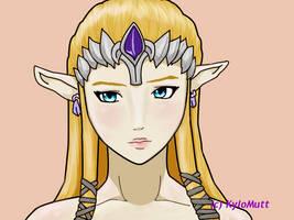Zeldas naked beauty. by KyloMutt