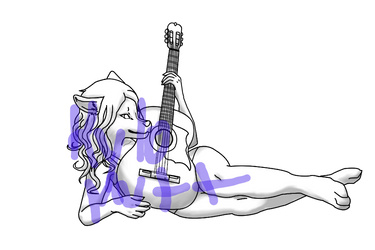 GUITAR POSE - Freebie by KyloMutt