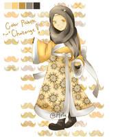 First Hijab's Digital Art by Hiikariee