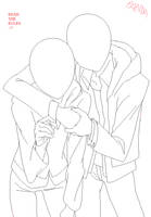 Hug base by pandanzu-pixels