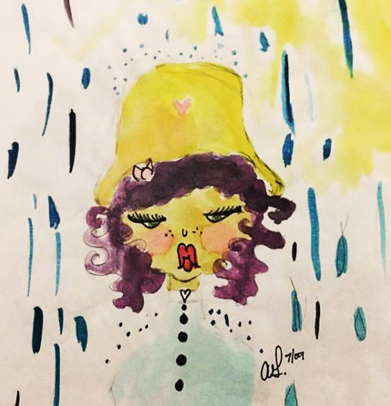 I Believe the Rain is Mocking Me by HonBun