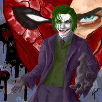 Joker and The Red Hood by JDVN7