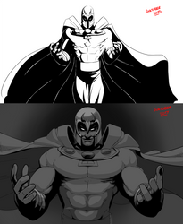 Redraw - Speed draw 03 - Master of magnetism by O-Orbis