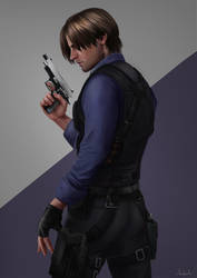 Leon S. Kennedy - Resident Evil by Tarivanima