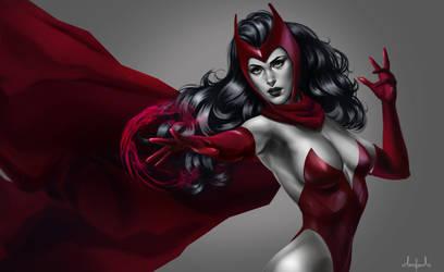 Scarlet Witch - Marvel by Tarivanima