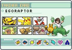 Pokemon Trainer Egoraptor by OkaMilan