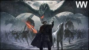 Jon Snow - Azor Ahai by waLek05