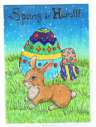 Easter Card by blackpearlrayn