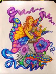 Mom's Garden Fairy by benjaminswinn