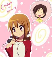 Hikari and Chinen by KurumiErika