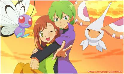 CM: Shelly131 ~ Miriam and Drew by KurumiErika
