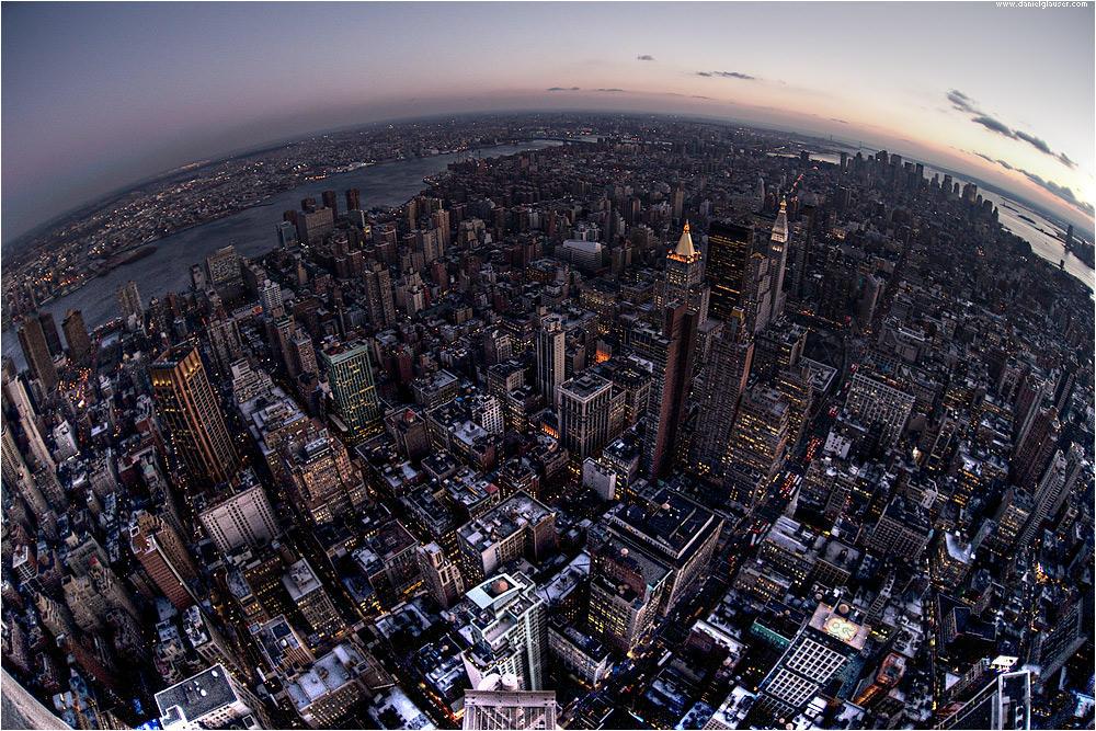 Dawn over NYC by danielglauser