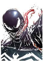 Venom sketch by Drawgonian