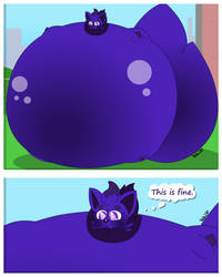 Blueberry Inflation in a Nutshell by Tails230