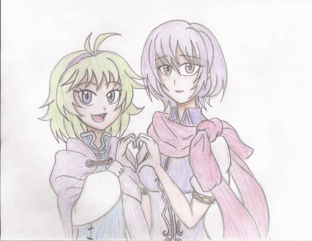 Nino And Katarina By Willanator93 On Deviantart