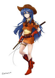 Fire Emblem/Sakura Wars Outfitswap - Lucina by Willanator93
