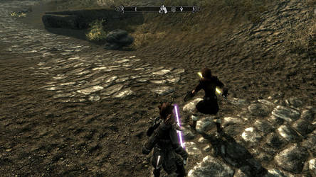 Skyrim with the force... by lavitzstrife
