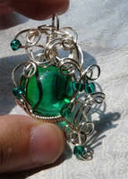 Wire pendant 240 by Kimantha333