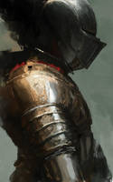 Knight Study by TristanBerndtArt