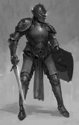Sir Knight by TristanBerndtArt