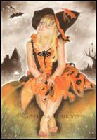 Halloween Magic by Katerina-Art