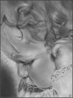 Shy Baby by Katerina-Art