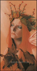 Autumn Queen by Katerina-Art